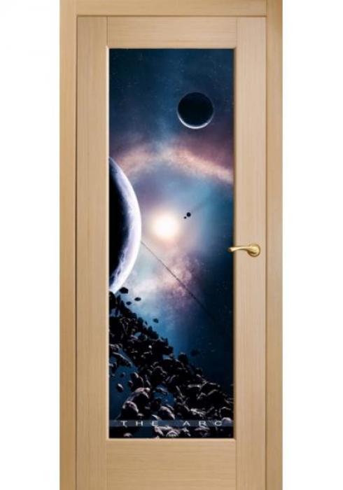 Оникс, Межкомнатные двери фотопечать Космос
