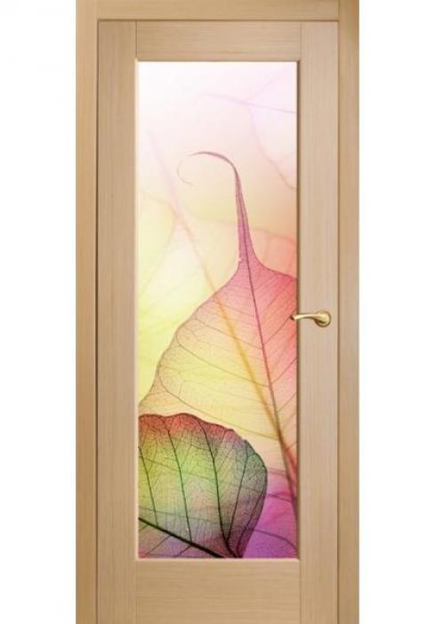 Оникс, Межкомнатные двери фотопечать Листья