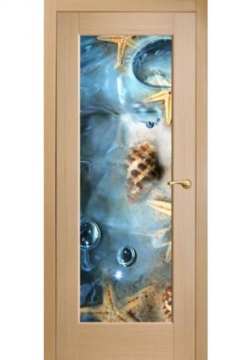 Оникс, Межкомнатные двери фотопечать Морские звезды