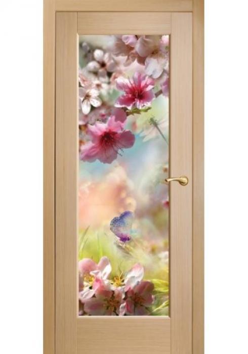 Оникс, Межкомнатные двери фотопечать Сакура и бабочки