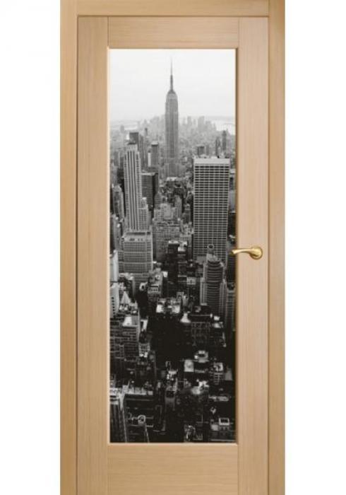 Оникс, Межкомнатные двери фотопечать Техно 8 New-York-1
