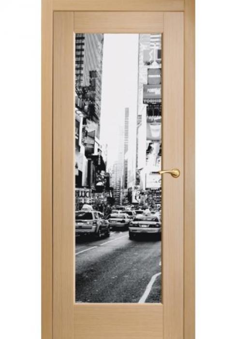 Оникс, Межкомнатные двери фотопечать Техно 8 Times Square