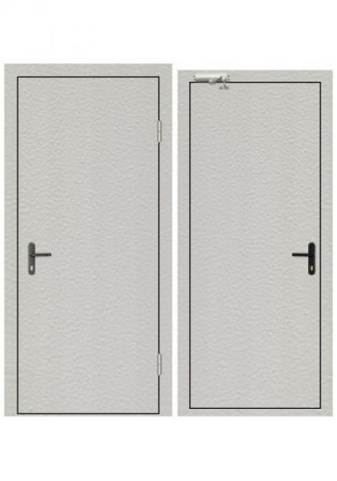 Завод Деревоизделий, Противопожарная дверь Мет лист - Мет лист