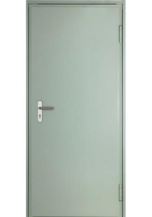 Двери Про, Техническая дверь с отделкой грунт-эмаль