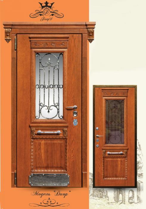 Боярд, Входная дверь Диор сер. Элит