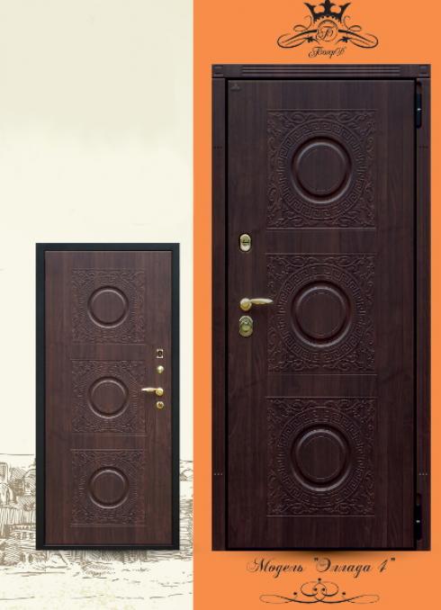 Боярд, Входная дверь Эллада 4 сер. Премиум