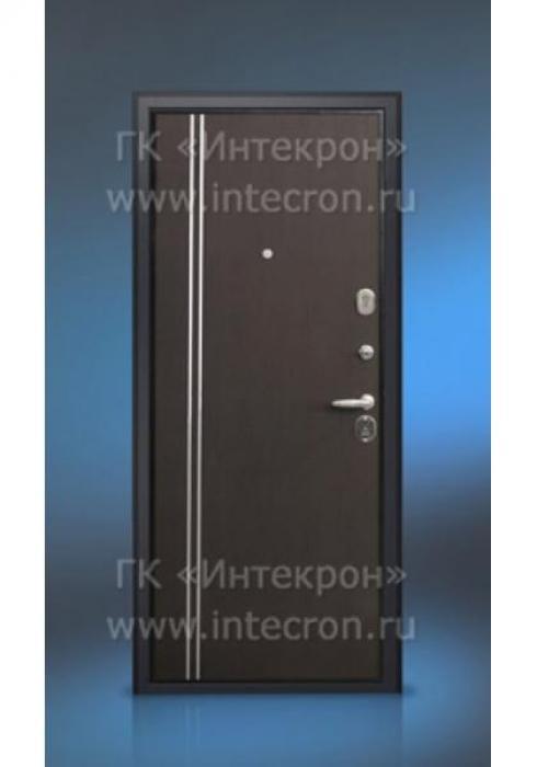 Интекрон, Входная дверь ламинированная с молдингом Интекрон