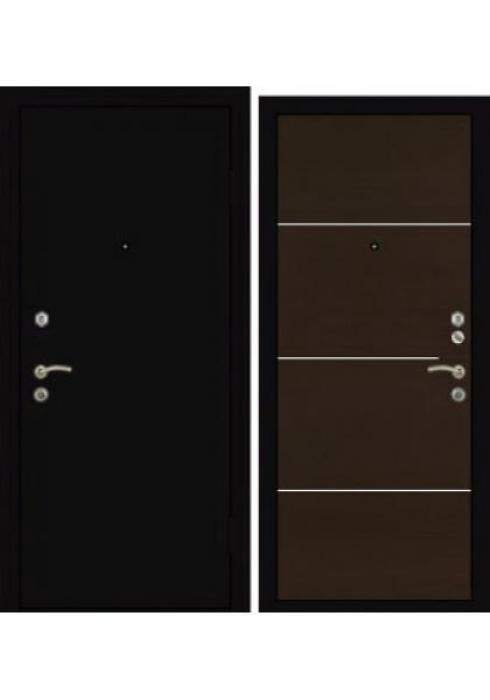Завод Деревоизделий, входная дверь Мет лист - 1М1 венге