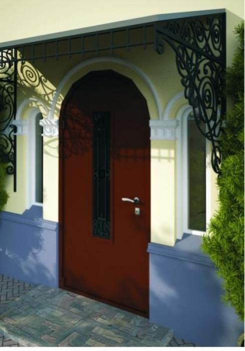 Неман, Входная дверь Модель Н-102 нестандартная одностворчатая