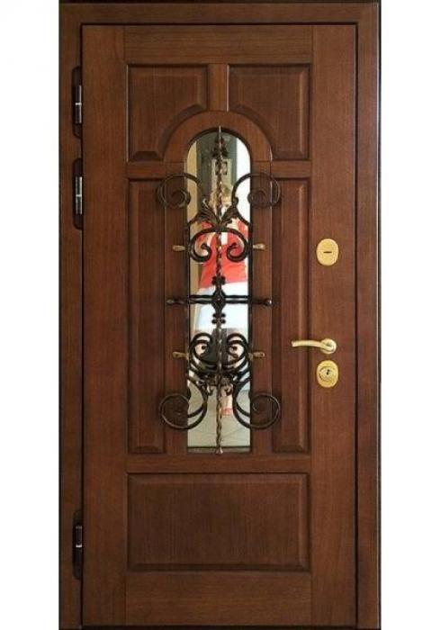 Двери Про, Входная дверь с отделкой из массива
