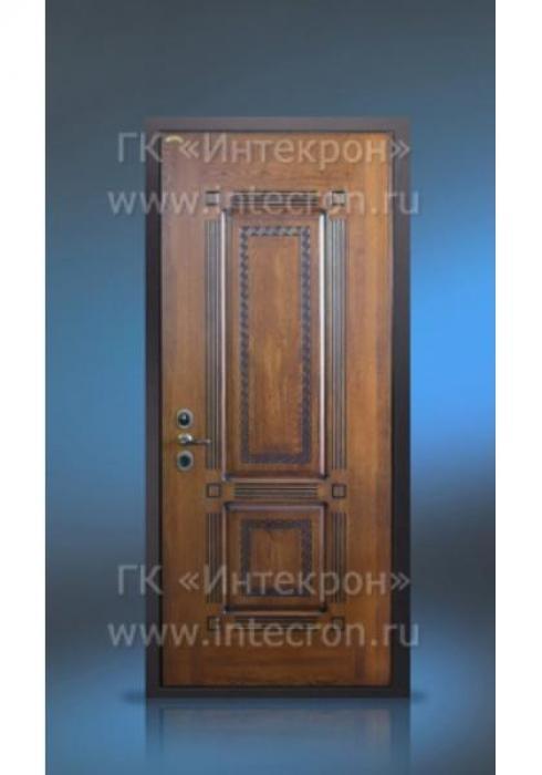 Интекрон, Входная дверь с отделкой массива дуба Интекрон