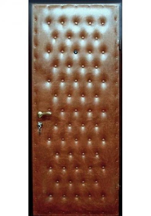 Двери Про, Входная дверь с отделкой винилискожей с дутым рисунком
