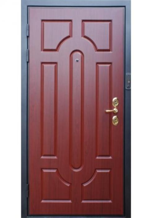 Дверь Сервис, Входная дверь с видеоглазком и цветным монитором - внешняя сторона