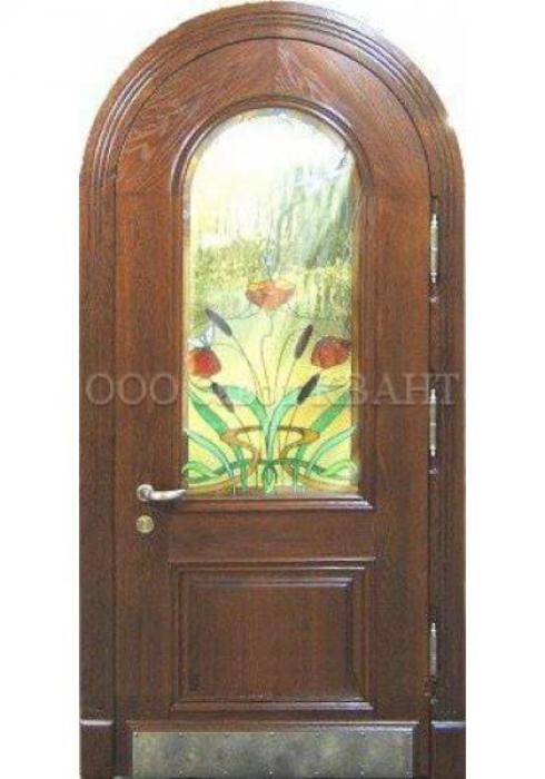 Квант, Входная дверь с витражом Квант