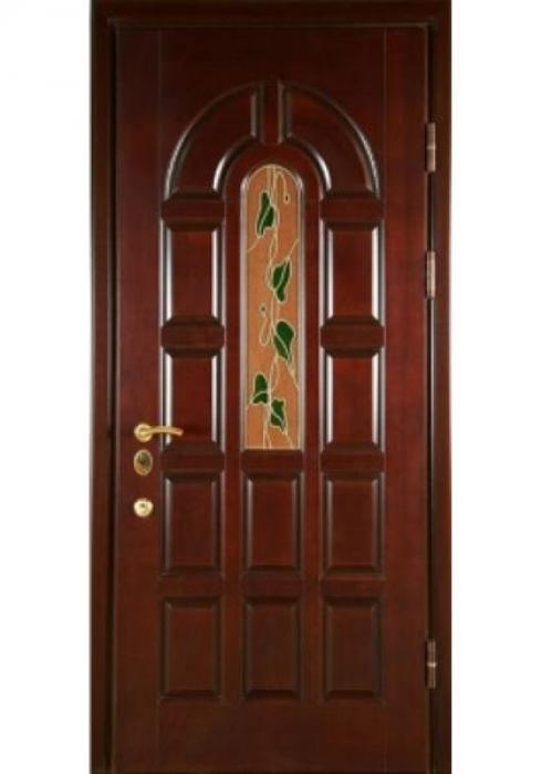 Зевс, Входная дверь с витражом Зевс VIT-06