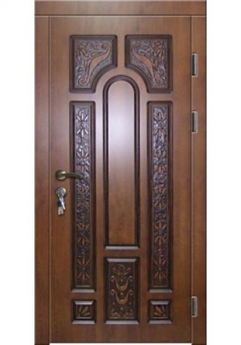 Зевс, Входная дверь в дом с резьбой Зевс ZD-04
