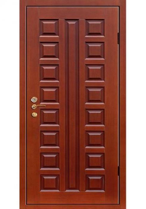 Двери Про, Входная филенчатая дверь из массива дуба