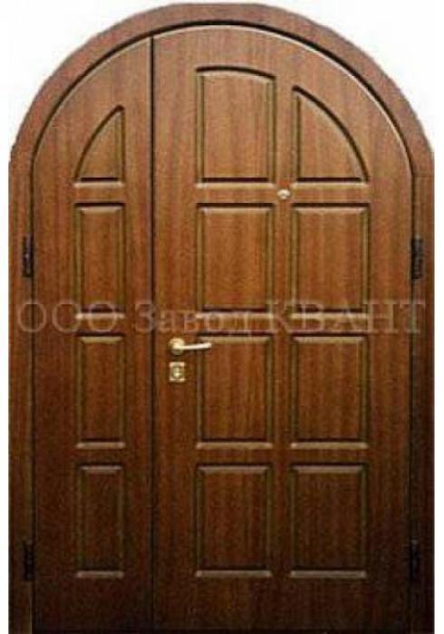 Квант, Входная металлическая арочная дверь  Квант