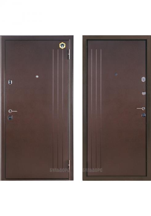 Бульдорс, Входная металлическая дверь Бульдорс Steel-23