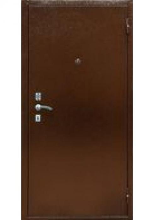 TRIADOORS, Входная металлическая дверь DORO 1 - наружная сторона