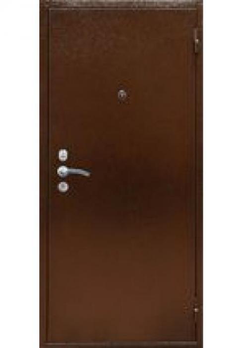 TRIADOORS, Входная металлическая дверь DORO 2 - наружная сторона