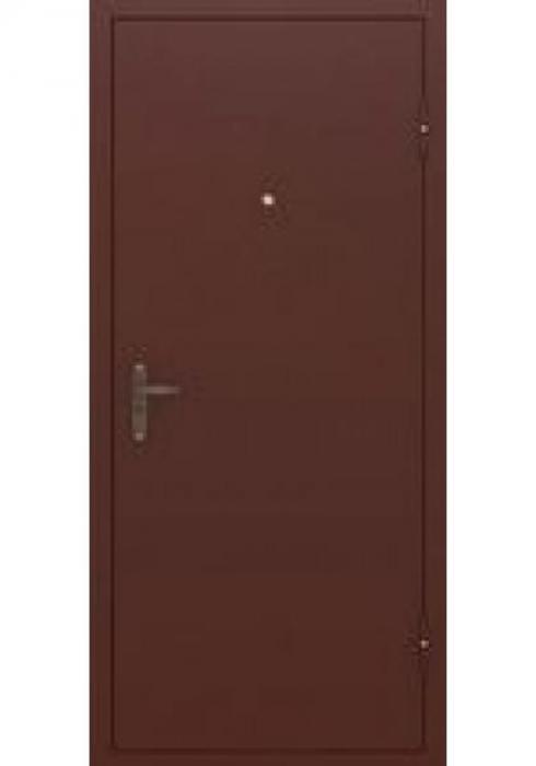 TRIADOORS, Входная металлическая дверь Эконом - наружная сторона