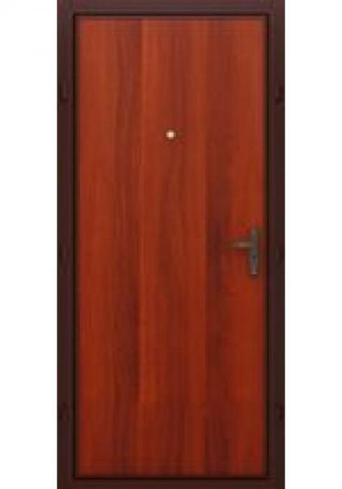 TRIADOORS, Входная металлическая дверь Эконом - внутренняя сторона