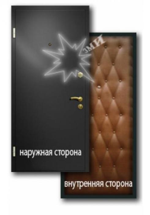Завод Металлических Изделий, Входная металлическая дверь эконом 3