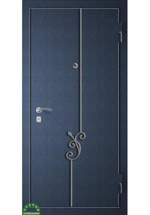 Зодчий, Входная металлическая дверь Ковка КАННА 1