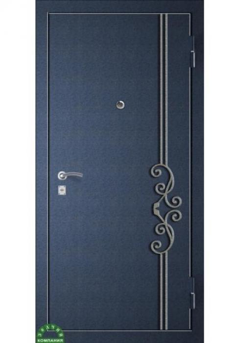 Зодчий, Входная металлическая дверь Ковка КАННА 3