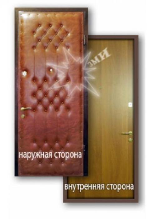 Завод Металлических Изделий, Входная металлическая дверь ламинат 3-1