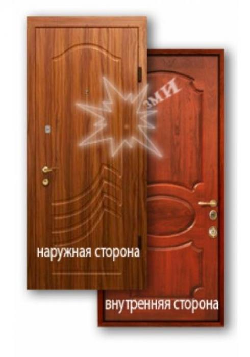 Завод Металлических Изделий, Входная металлическая дверь МДФ 12