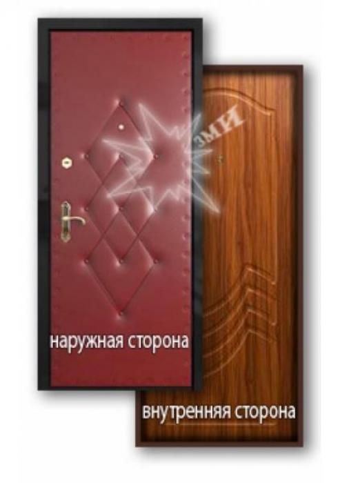 Завод Металлических Изделий, Входная металлическая дверь МДФ-ПВХ 2