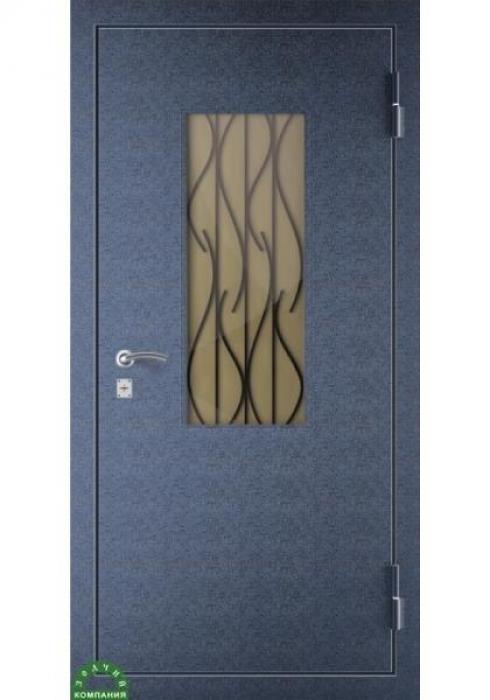 Зодчий, Входная металлическая дверь Решетка ВОЛНА 1