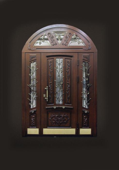 Стальной Портье, Входная нестандартная стальная дверь