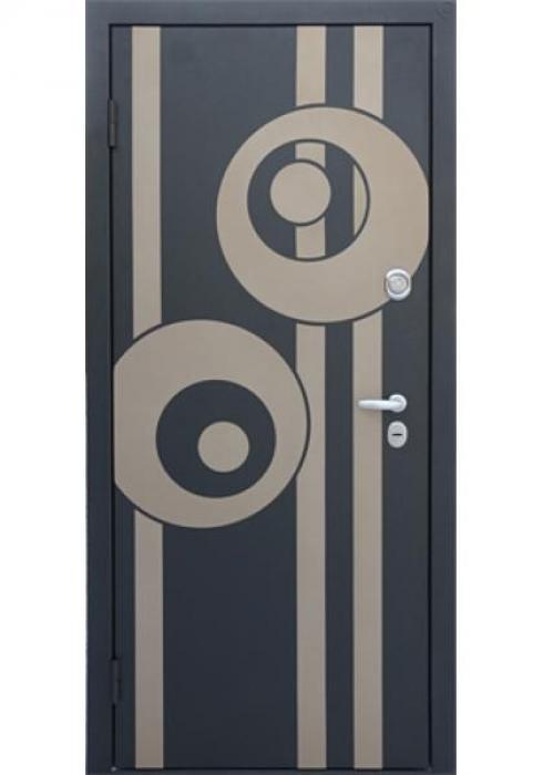 Дверь Сервис, Входная стальная дверь - внешняя сторона