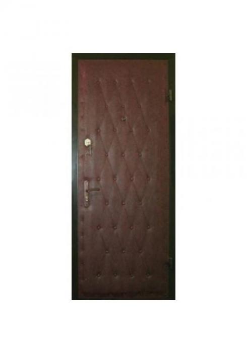 Вландр, Входная стальная дверь c рисунком из пуговиц 34