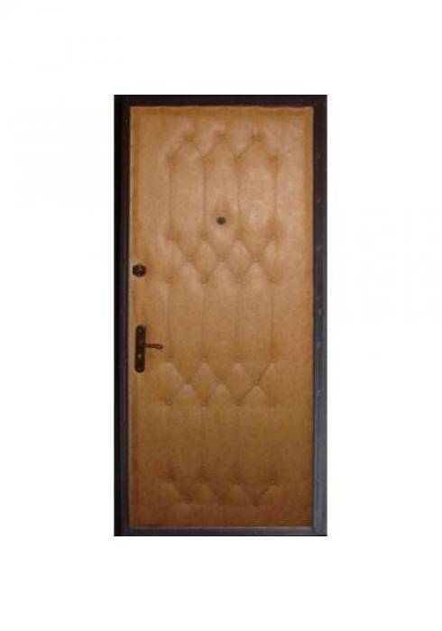 Вландр, Входная стальная дверь c рисунком из пуговиц 36
