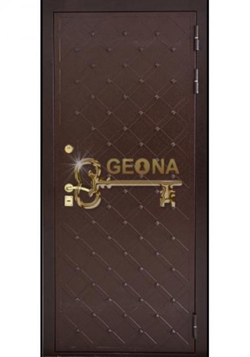 Geona, Входная стальная дверь Гранит - наружная сторона