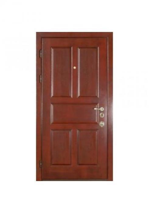 Вландр, Входная стальная дверь из массива дуба 3