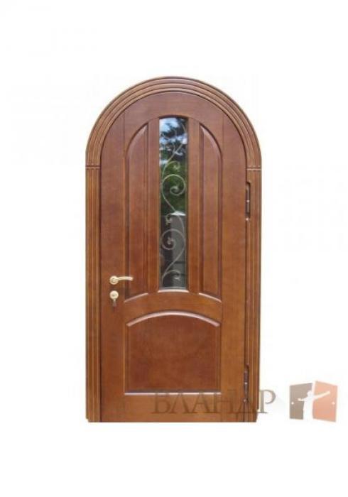 Вландр, Входная стальная дверь из массива дуба 34
