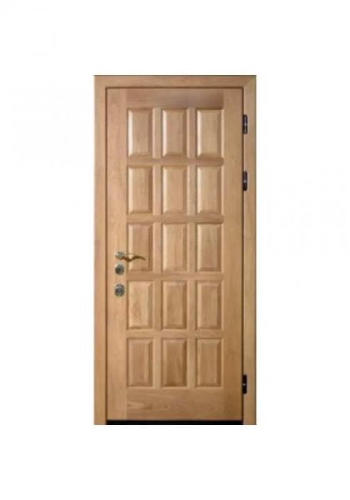 Вландр, Входная стальная дверь из массива дуба 6
