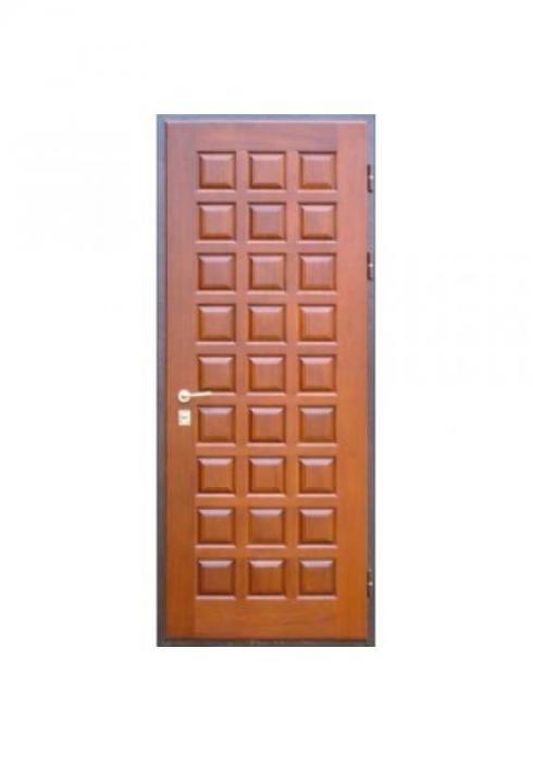 Вландр, Входная стальная дверь из массива дуба 8