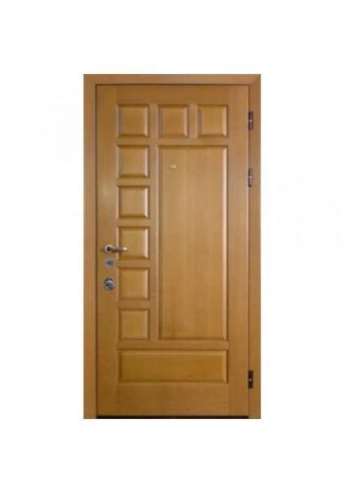 Вландр, Входная стальная дверь из массива дуба 9