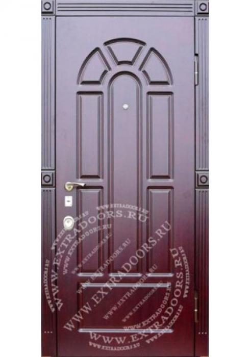 Exstradoors, Входная стальная дверь МДФ-шпон, ПВХ