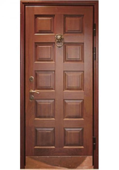 Авес, Входная стальная дверь, отделанная массивом Стандарт