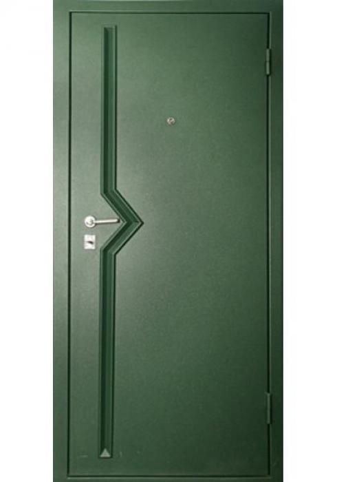 Дверь Сервис, Входная стальная дверь Руст - наружная сторона
