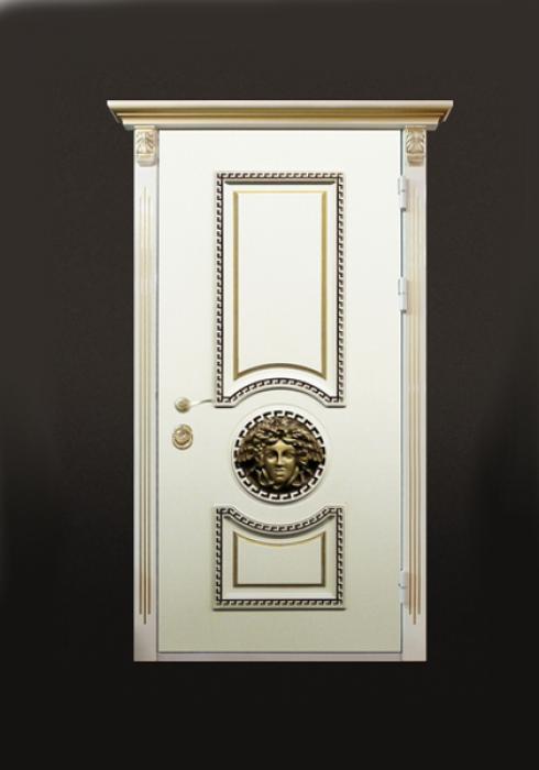 Стальной Портье, Входная стальная дверь с эксклюзивной отделкой