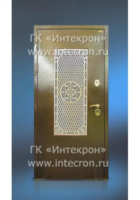 Интекрон, Входная стальная дверь с окном Интекрон