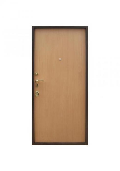 Вландр, Входная стальная дверь с отделкой ламинатом 11л